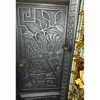 Gold Medal Eagle Grate doors.
