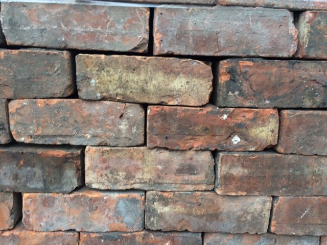 "Reclaimed 3"" bricks"