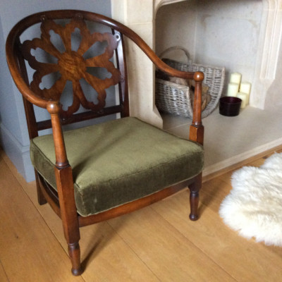 Harry seniors Beech framed armchair