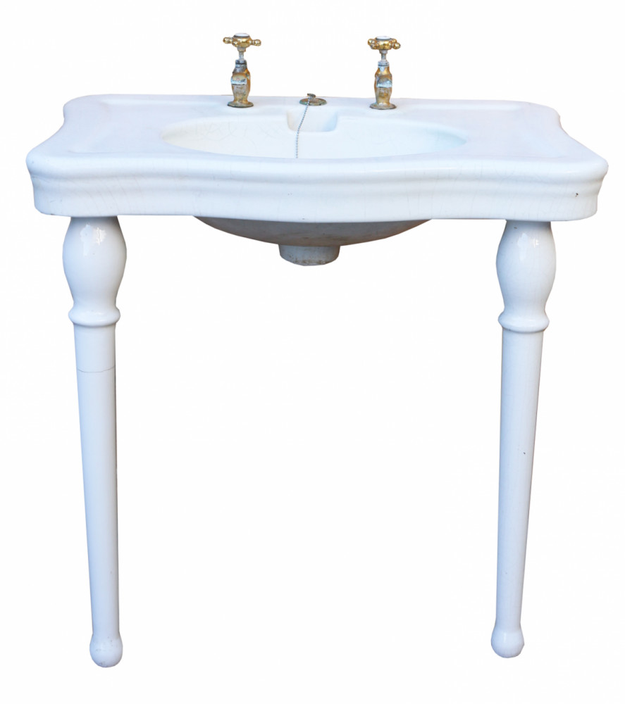 Circa 1900 ' Jacob Delafon' Antique French Basin/ Sink