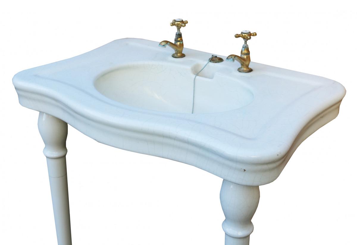 Circa 1900 ' Jacob Delafon' Antique French Basin/ Sink