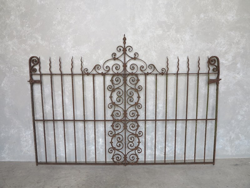 Reclaimed Antique Wrought Iron Railings