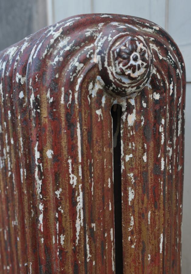 rare reeded princess antique cast iron radiator