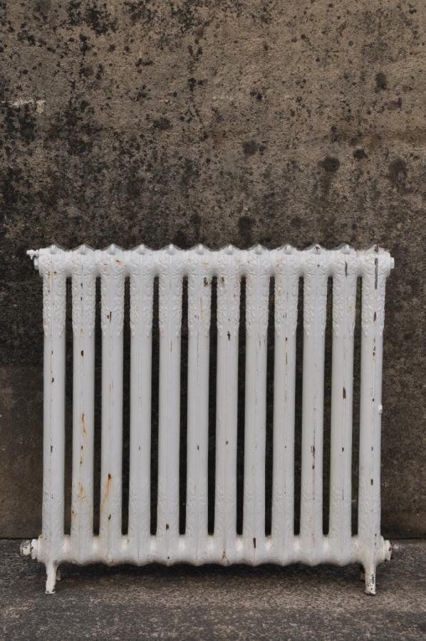 antique decorative cast iron radiator