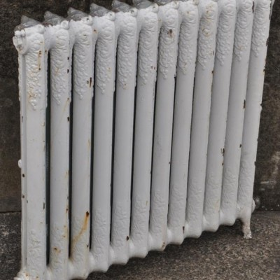 antique decorative cast iron radiator
