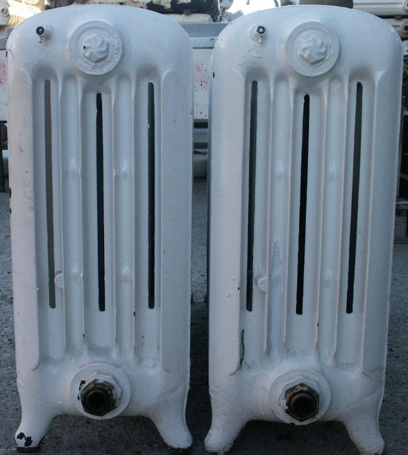 rare fat cast iron radiators