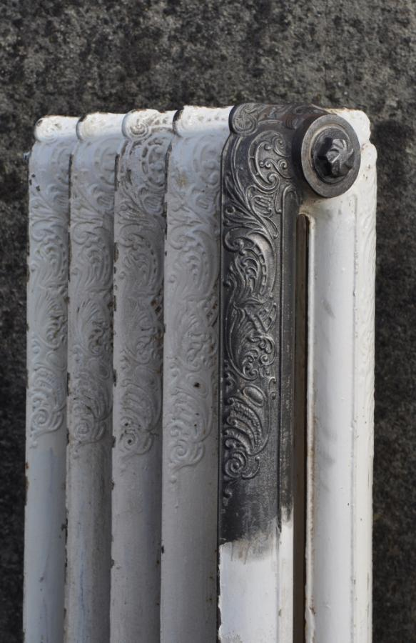 pair decorative princess antique cast iron radiators