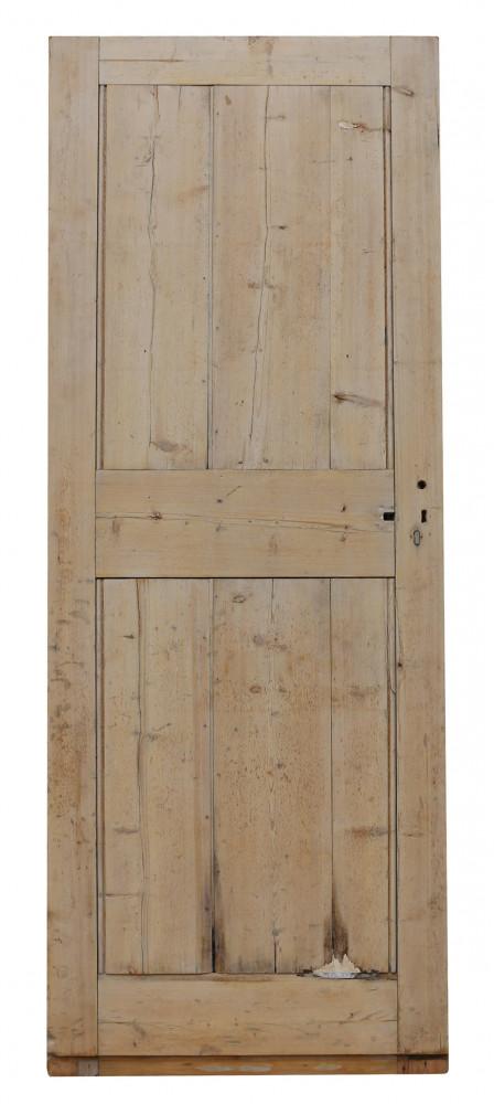 For Sale 19th Century Exterior Pine Front Door Salvoweb Uk