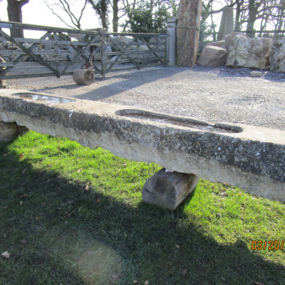 French Limestone Trough.