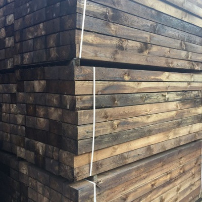 Reclaimed Sawn Railway Sleepers  From £ 11.50 + VAT