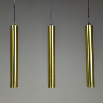 Brass Tube Pendant Lights x22