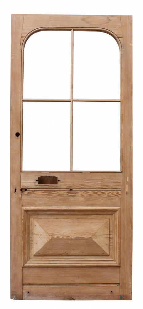 For Sale Antique Exterior Pine Front Door Salvoweb Uk