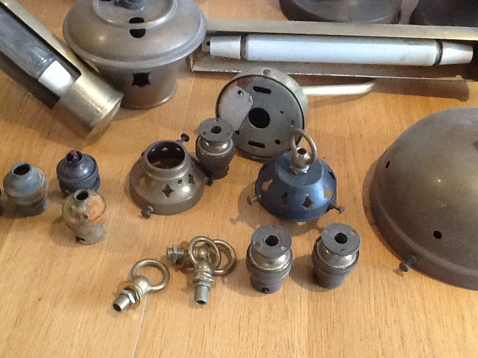 Antique Lighting Job Lot