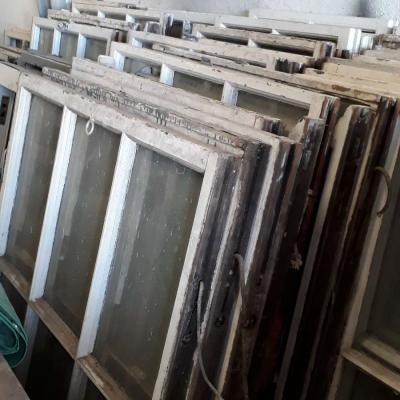 Reclaimed sash windows and box frames