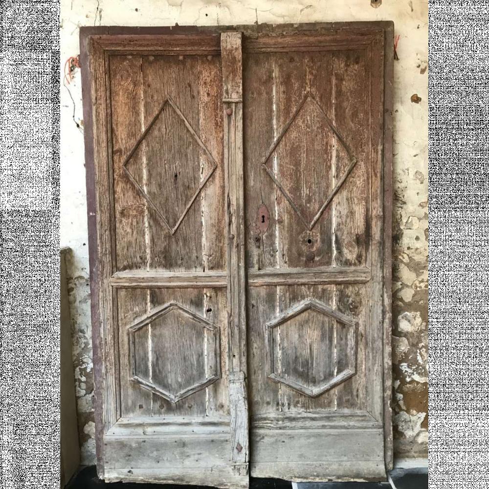 Pair Of 17th Century Antique French Doors