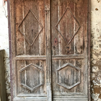 Pair Of 17th Century Antique French Doors