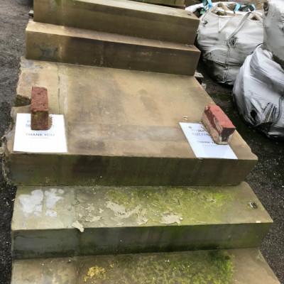 Set of Yorkstone Steps
