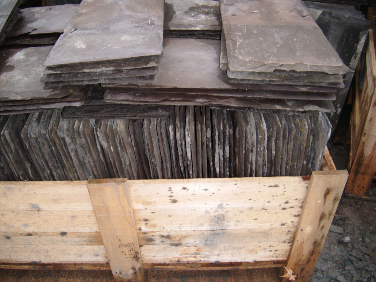 Reclaimed welsh slates 22 x 11