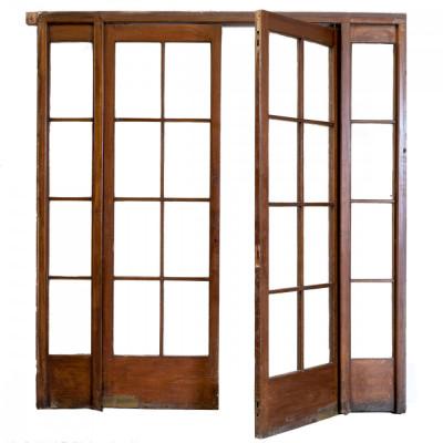 Antique Mahogany Entrance Doors