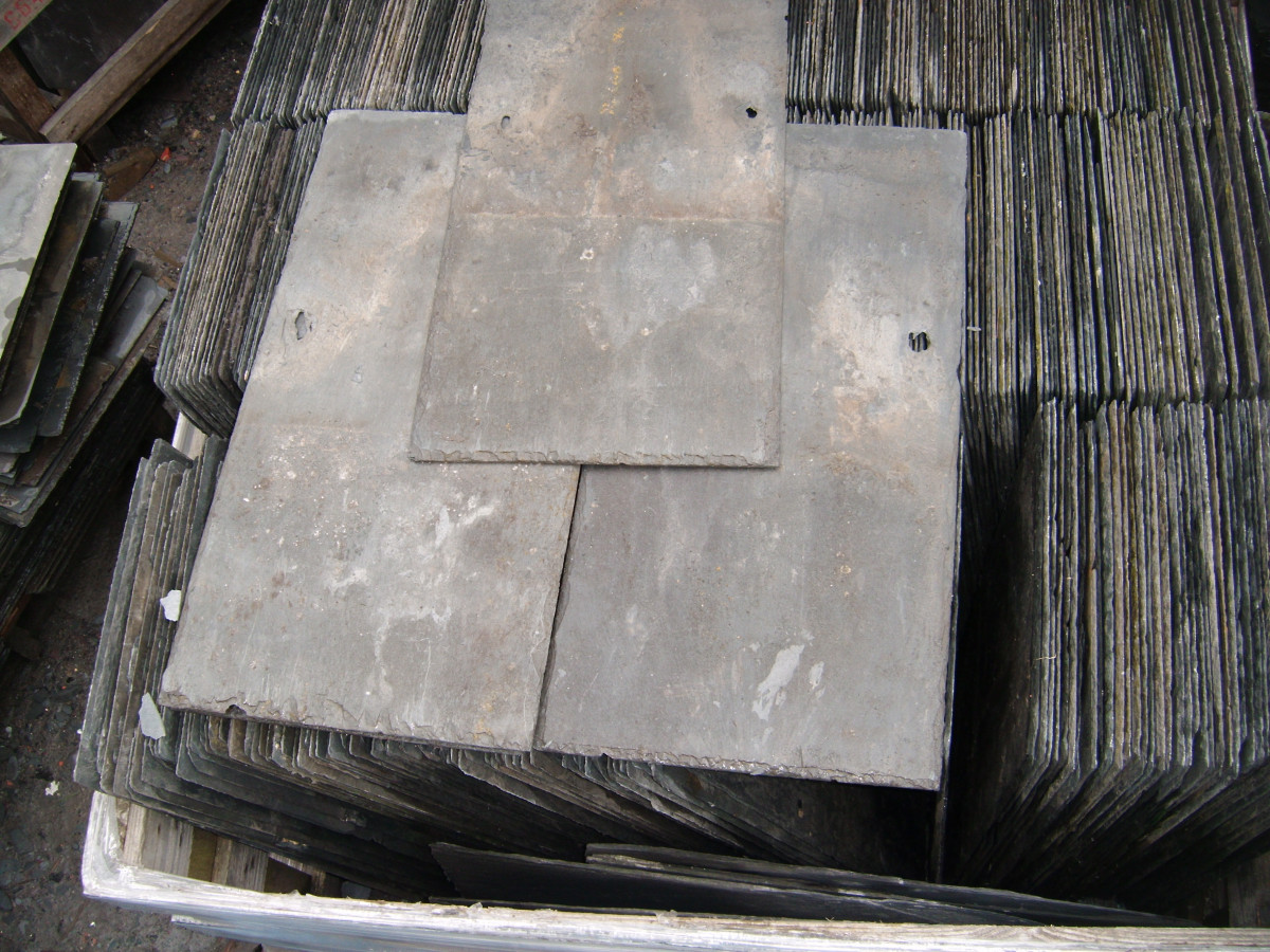 Welsh slates 24 x 12 reclaimed roof slates