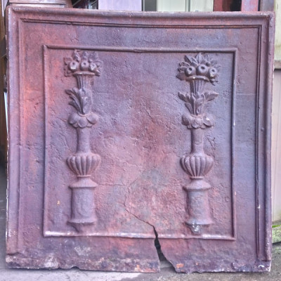 Large And Exceptional Antique French Fireback