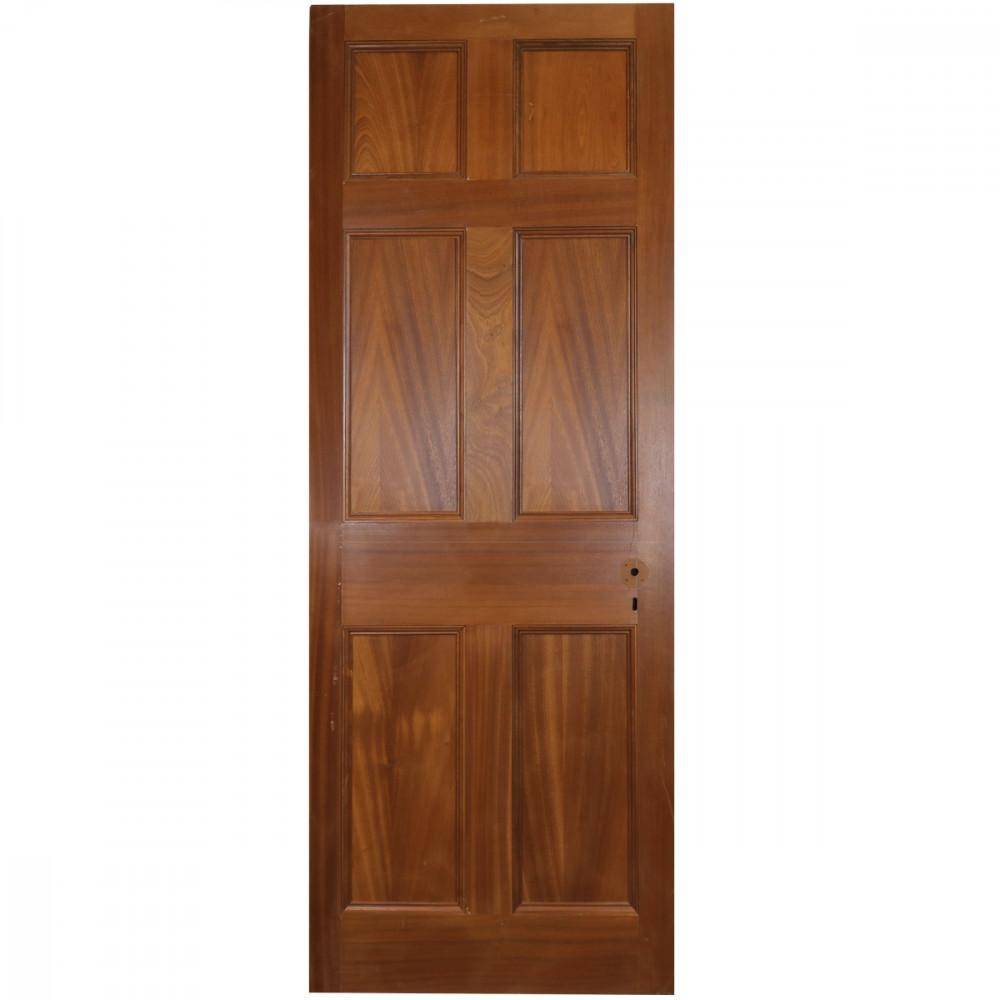 Mahogany Georgian Style Door