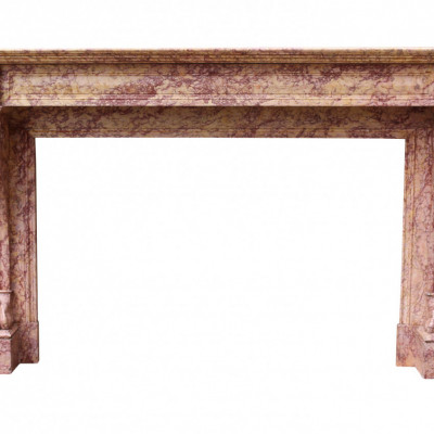 19th Century French Regency Louis Xvi Fire Surround