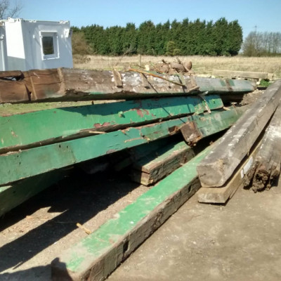 Large Reclaimed Wooden Beams