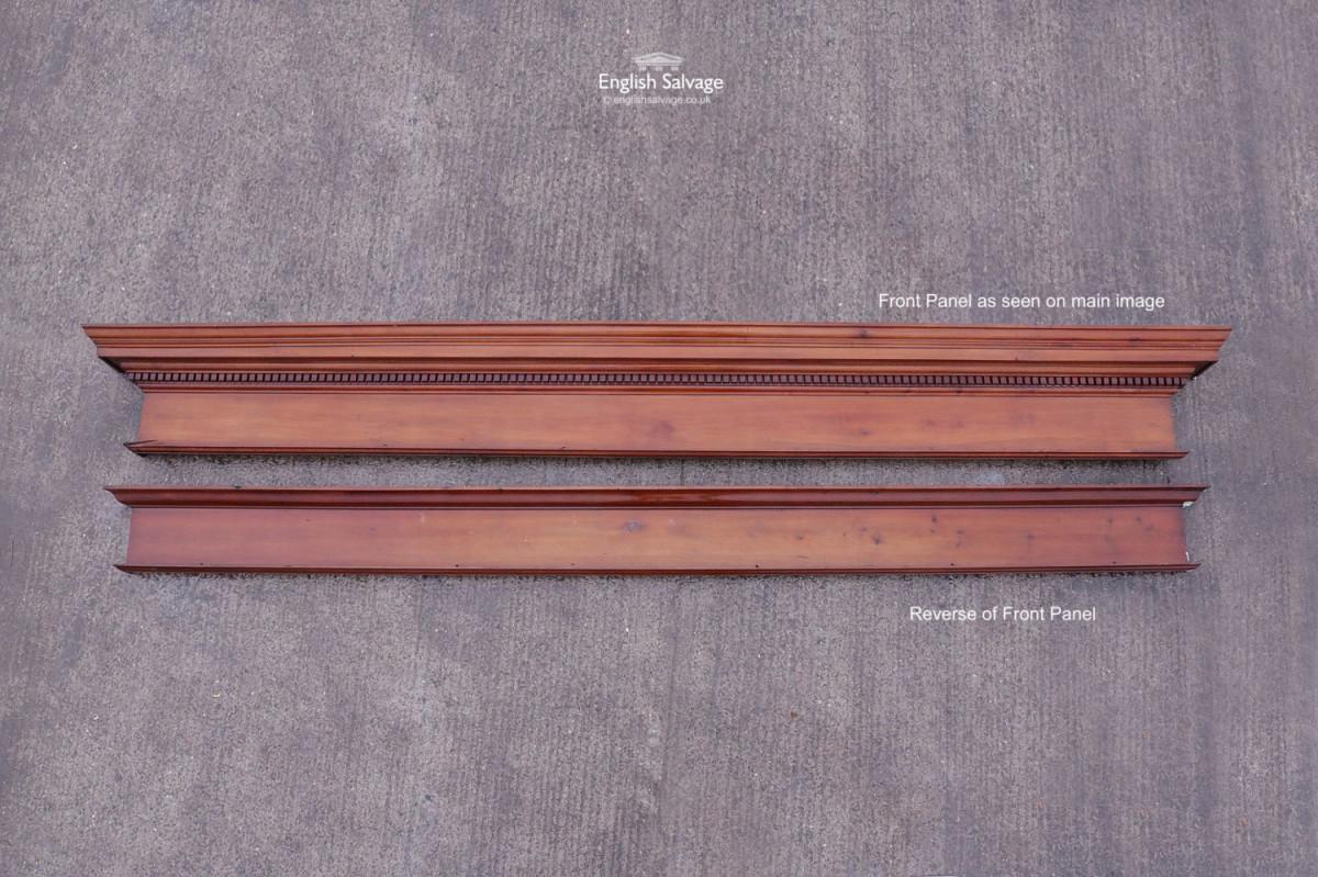 Monumental Wooden Entablature & Columns
