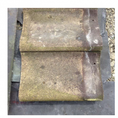 Redland 52 Brown Single Concrete Pantile Salvaged Roof Tiles 005