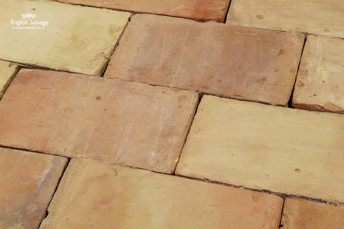 For sale reclaimed old buff ceramic floor tiles salvoweb uk reclaimed old buff ceramic floor tiles dailygadgetfo Choice Image