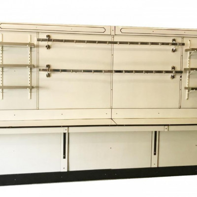 Art Deco Butcher Shop Porcelain Back Bar