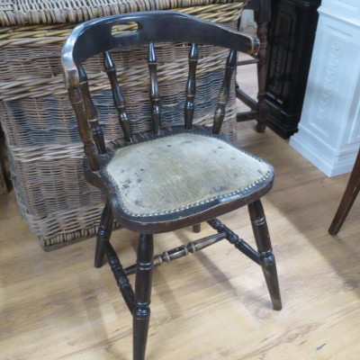 Reclaimed Admiral Chair