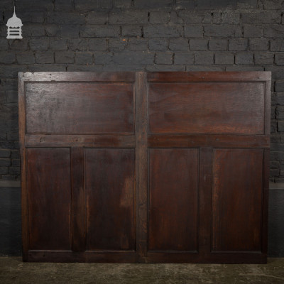 Single Piece of 19th C Oak Panel Panelling