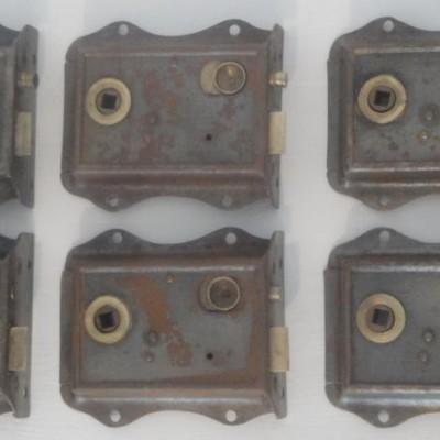 Victorian rim locks