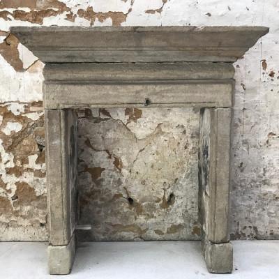 Antique 18th Century English Stone Fireplace