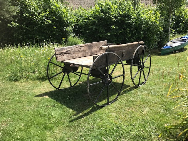 Vintage Style Hay Cart /Wagon