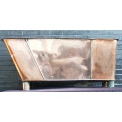 antique coppr bath