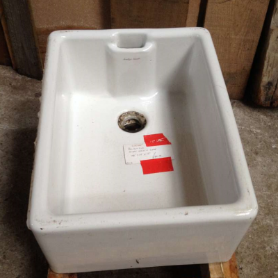Salvaged Sink Belfast Ceramic Kitchen Sink Armitage Shanks White Sink 008