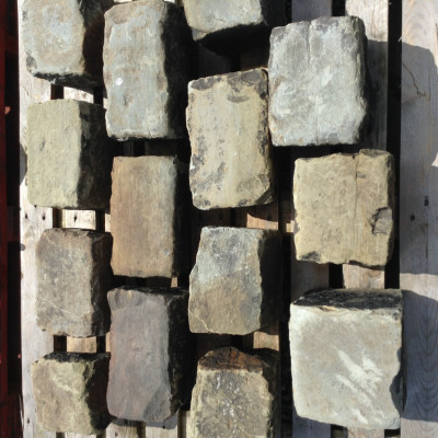 Reclaimed Yorkstone Setts