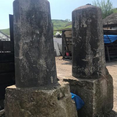 Granite Pillars with great history