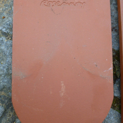 Salvage Feature ROSEMARY Clay Wall HangingTiles - straight and rounded