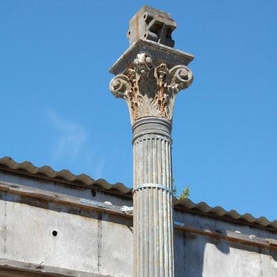 Victorian Cast Iron Corinthian Reeded Columns