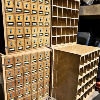 Vintage Mailboxes
