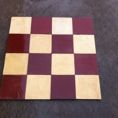 Victorian cement tiles - free shipping !