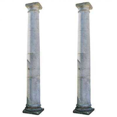 Reclaimed Portland Stone Columns
