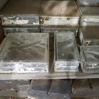 reclaimed glass blocks