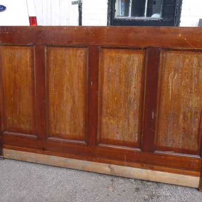 reclaimed moulded panels and architraves