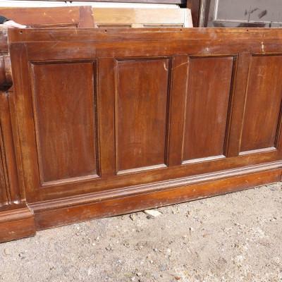 reclaimed oak moulded panels