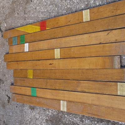 reclaimed gymnasium maple flooring